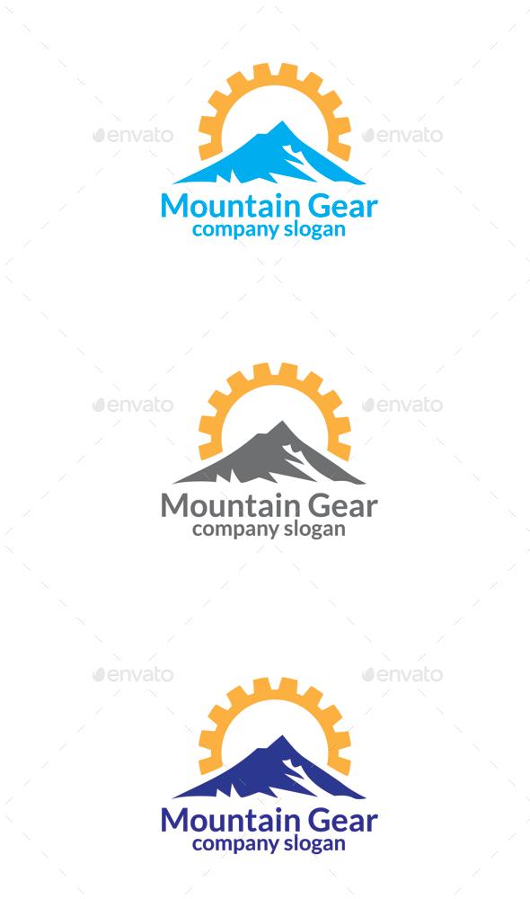 GraphicRiver Mountain Gear 9673572