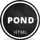 Link toPond - creative portfolio / agency template