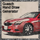 Guasch Hand Draw Generator - GraphicRiver Item for Sale
