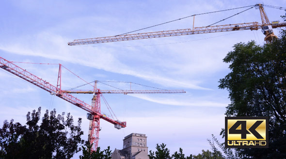 VideoHive Tower Crane 9673706