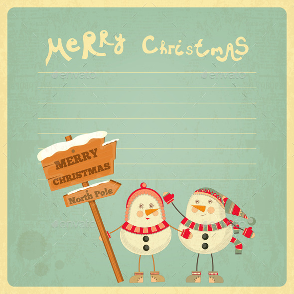 GraphicRiver Merry Christmas Greeting Card 9673708
