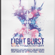 Light Burst Flyer Template - GraphicRiver Item for Sale
