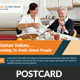 Senior Care Postcard Template - GraphicRiver Item for Sale