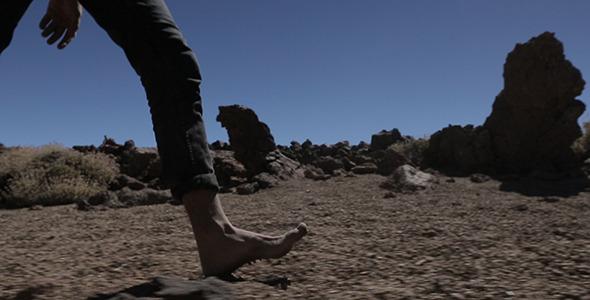 VideoHive Walking the Rocks 9673917