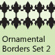 Ornamental Borders Set 2 - GraphicRiver Item for Sale