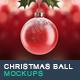 Christmas Ball and Greetings Mockups - GraphicRiver Item for Sale
