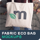 Fabric Eco Bag Mockups - GraphicRiver Item for Sale