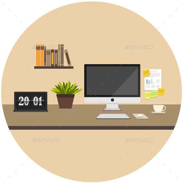 GraphicRiver Home Icon Flat 9674140