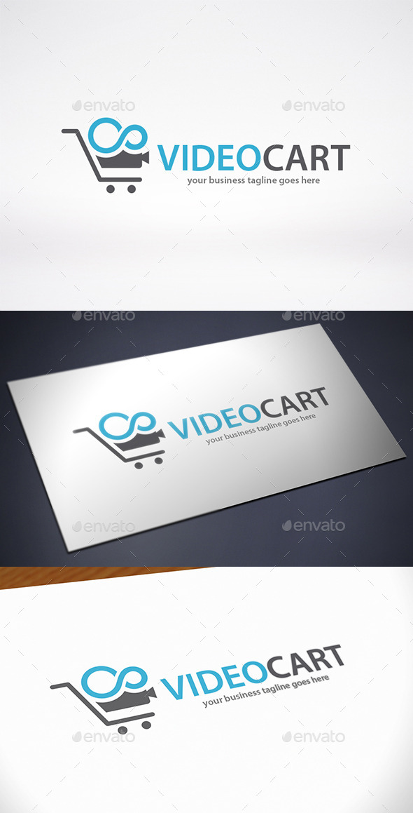 GraphicRiver Video Cart Logo Template 9674155