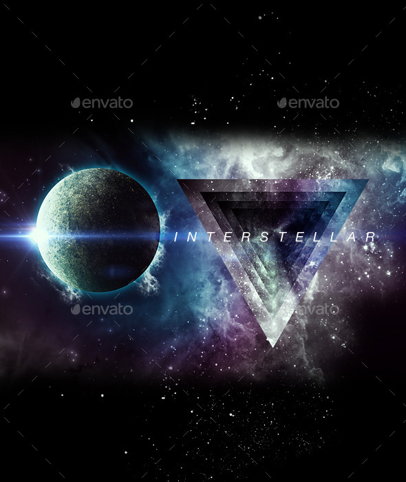GraphicRiver Interstellar Space Background Set 9674271