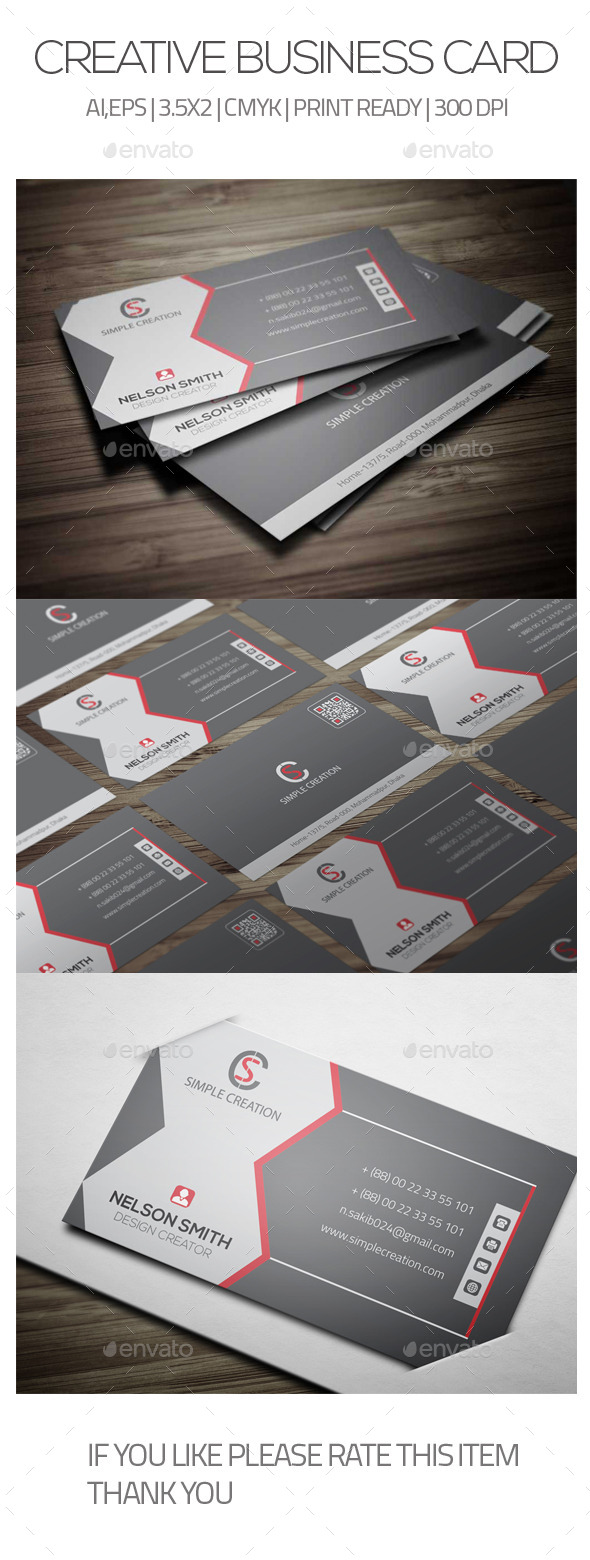 GraphicRiver Creative Business Card 05 9674389