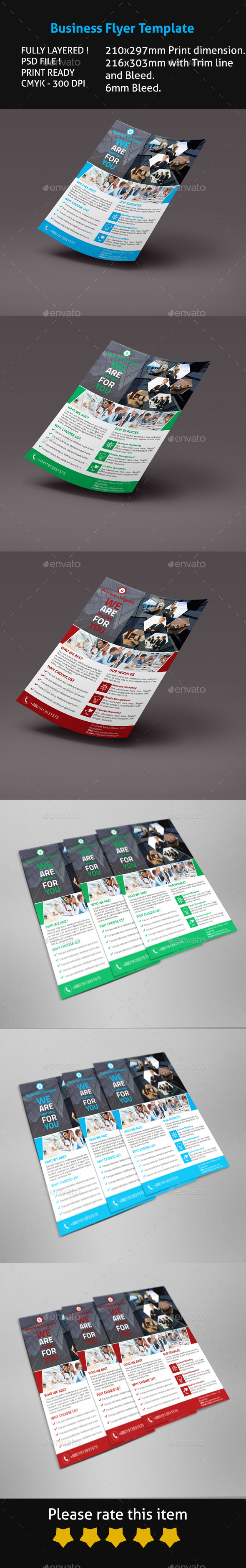 GraphicRiver Business Flyer Template 9674506