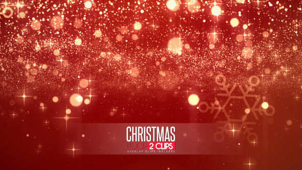 VideoHive Christmas Light Backgrounds 9675013
