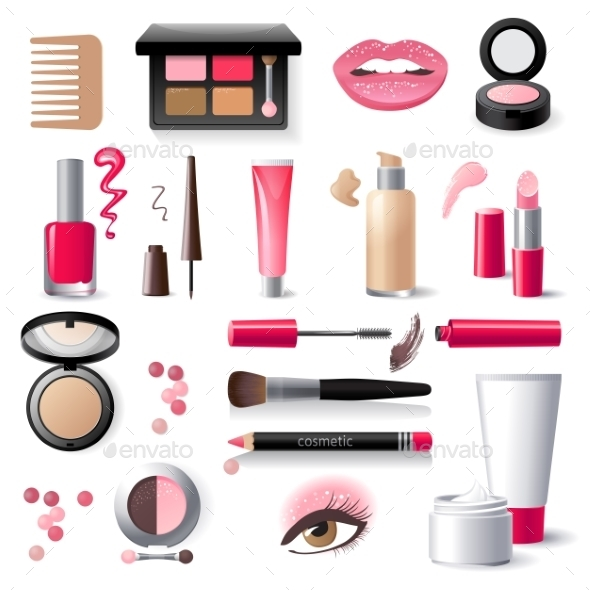 GraphicRiver Cosmetics Icons 9675065