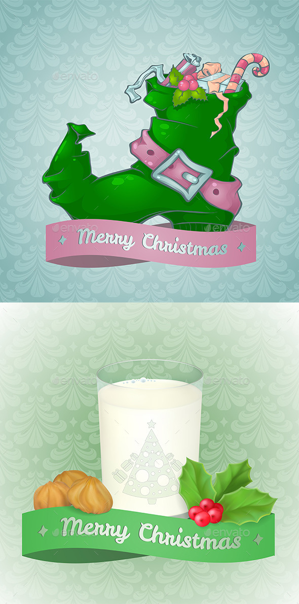 GraphicRiver Christmas Cards 9675282