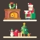 Santa Clause Reading Mail - GraphicRiver Item for Sale