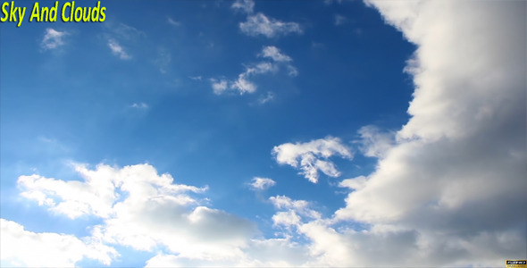 VideoHive Sky And Clouds 9675391