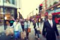 people in bokeh, street of London - PhotoDune Item for Sale
