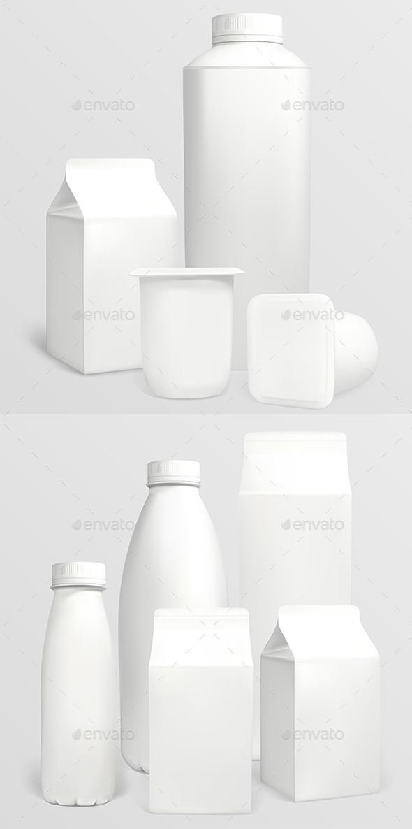 GraphicRiver Blank Carton Packaging 9675420