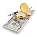 dollars money banknotes on white - PhotoDune Item for Sale