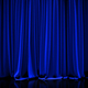 Blue closed curtain - PhotoDune Item for Sale