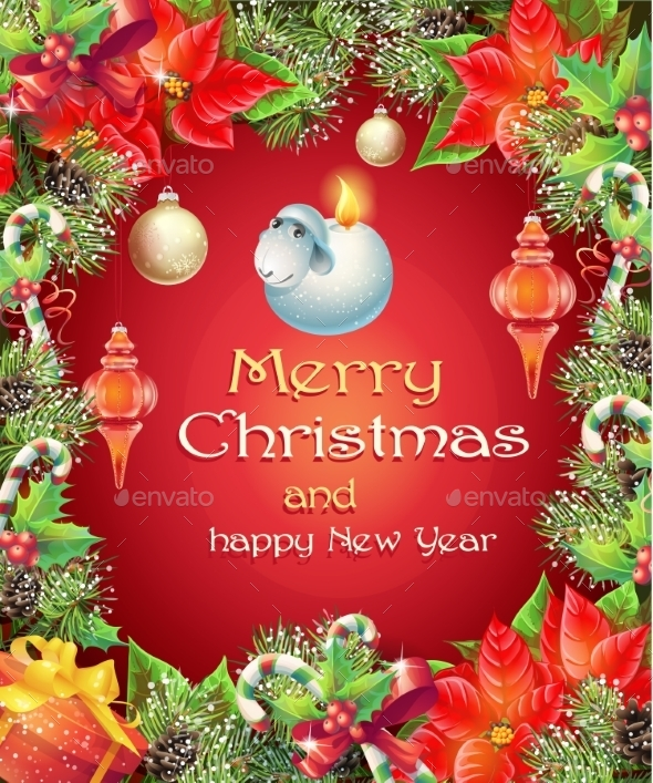 GraphicRiver Christmas and New Year 9675803