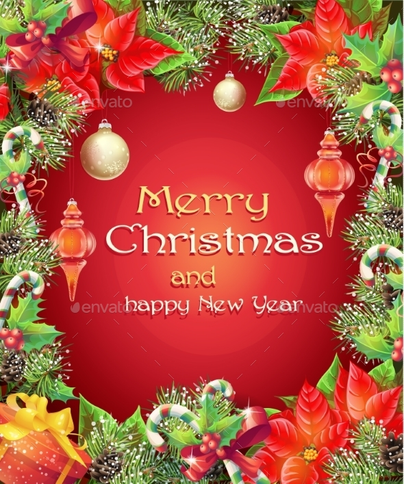 GraphicRiver Christmas and New Year 9675809