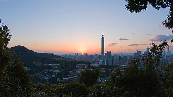 VideoHive Taipei Sunset 9675932