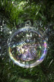 Angel glass Christmas tree bauble decoration - PhotoDune Item for Sale