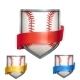 Baseball Shields - GraphicRiver Item for Sale