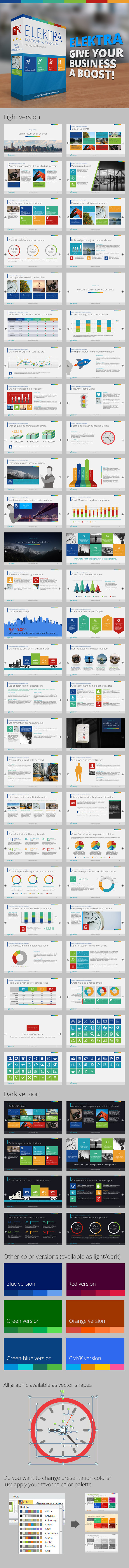 GraphicRiver Elektra PowerPoint Template 9676518