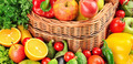 fruit and vegetables background - PhotoDune Item for Sale