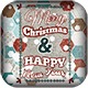 Christmas Flyer/Poster Retro Vol.8 - GraphicRiver Item for Sale