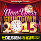 New Year Countdown Flyer - GraphicRiver Item for Sale