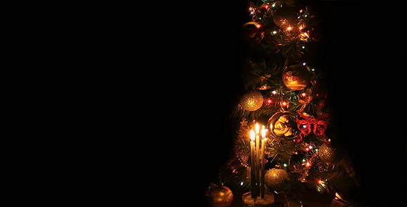 VideoHive Christmas Tree with Candles 9677173