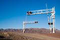 Mojave Desert Railroad Crossing Three Tracks Warning Lights - PhotoDune Item for Sale