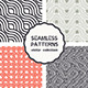 Vector Set of Four Geometric Seamless Patterns - GraphicRiver Item for Sale