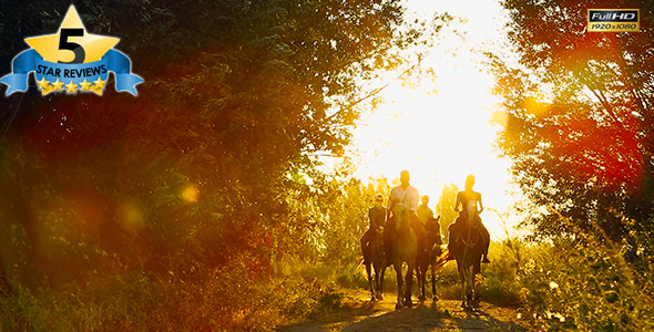 VideoHive Horseback Riding 1 9677423