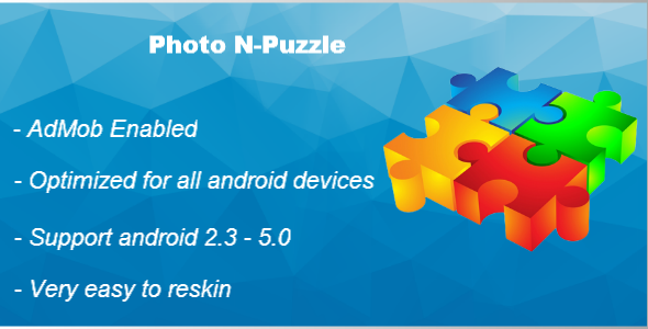CodeCanyon Photo N-Puzzle With AdMob 9677545