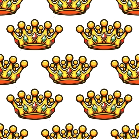 GraphicRiver Crown Pattern 9677578