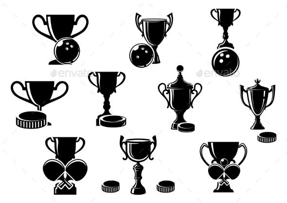 GraphicRiver Sports Trophies 9677591