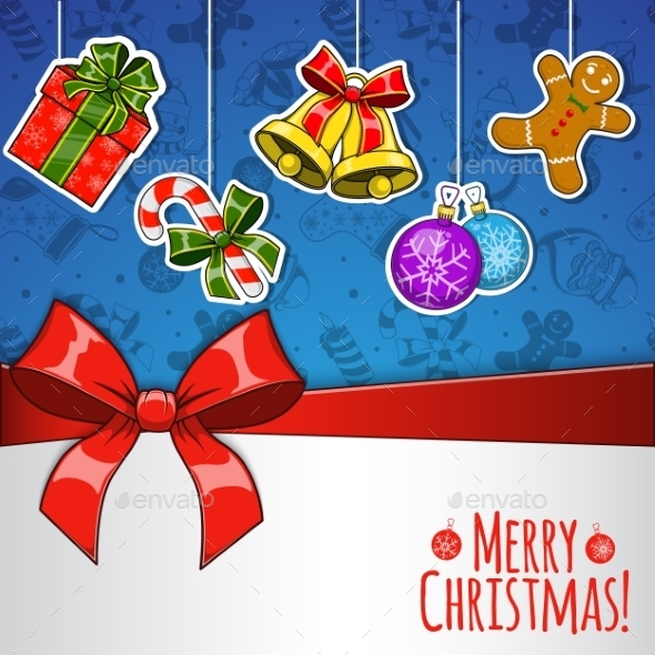 GraphicRiver Christmas Holiday Background 9677692