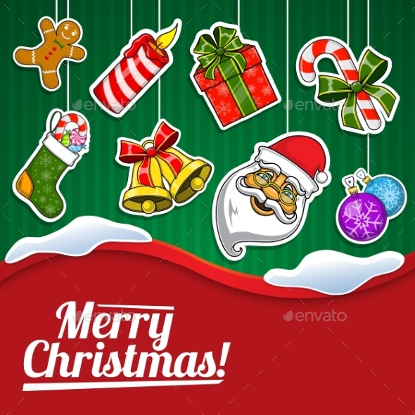 GraphicRiver Christmas Holiday Background 9677693