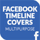 Multipurpose Facebook Timeline Covers - GraphicRiver Item for Sale