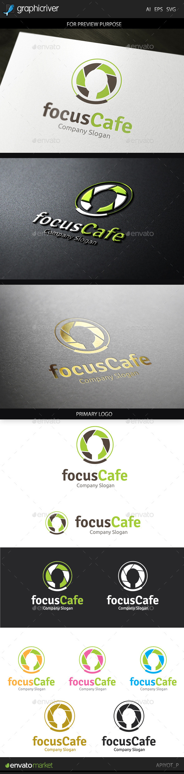 GraphicRiver The Cafe Logo 9678057
