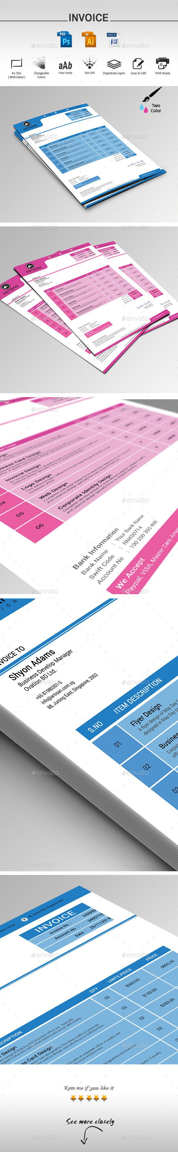 GraphicRiver Invoice Template 9678115