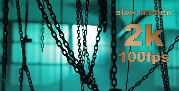 VideoHive Space With Chains 9678163