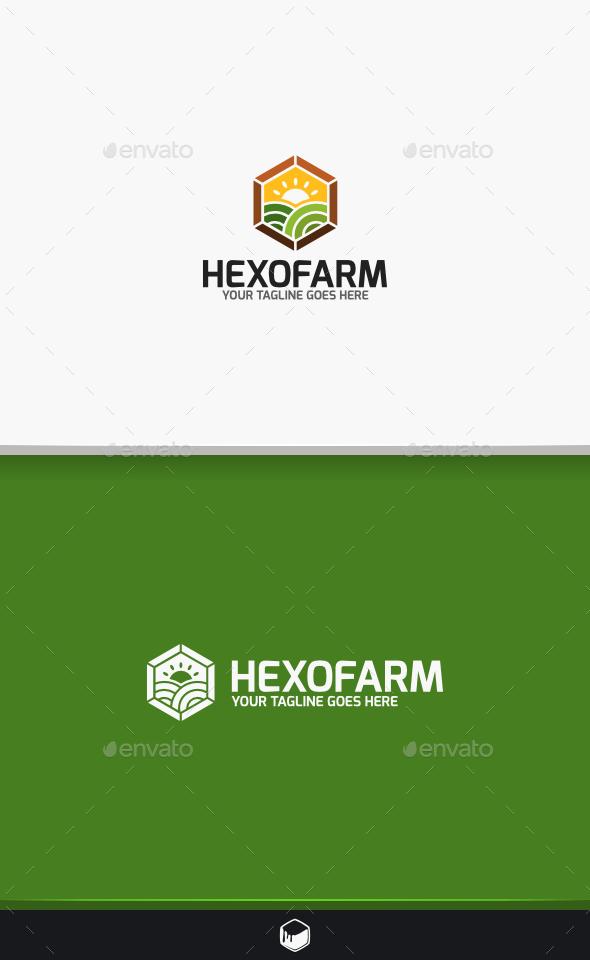GraphicRiver Hexofram Logo 9678286