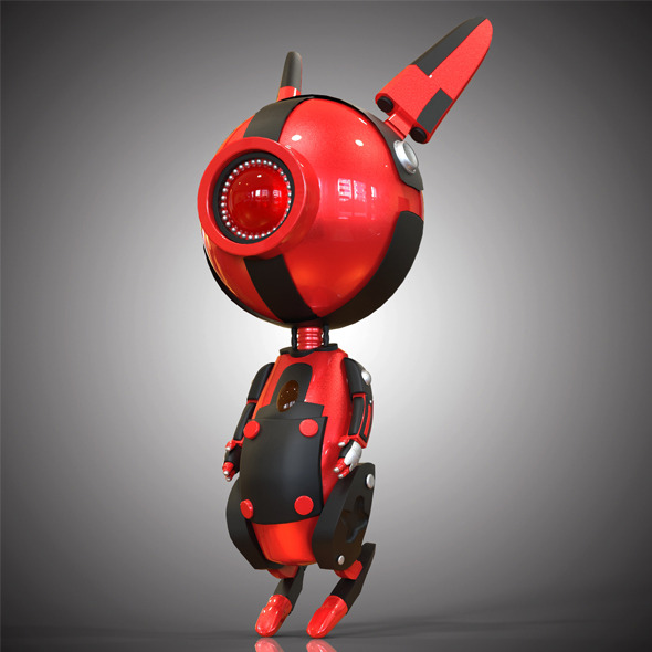 3DOcean Robo Rabbit 9678303