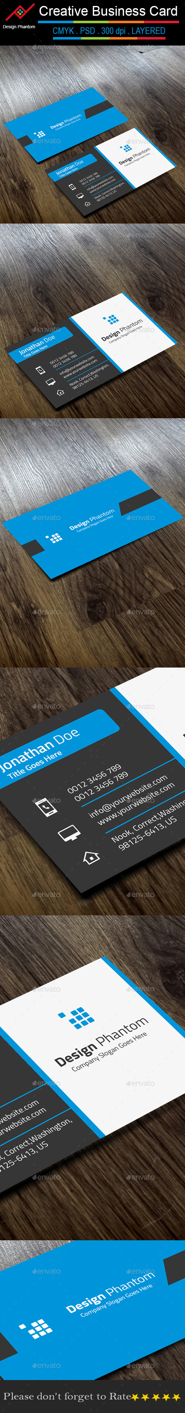 GraphicRiver Creative Business Card 9678308